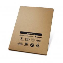 conférencier écologique en papier recyclé