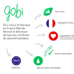 Gobi la gourde écologique made in France