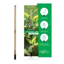 Ce crayon publicitaire donne vie à une plante ! Quand le crayon devient trop court pour écrire, il suffit de planter le bout sombre dans un petit pot de terreau