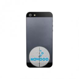 Ce patch vous protège du rayonnement de votre téléphone (il réduit le DAS / débit d'absorption spécifique de 99%). Nowooo le personnalise avec votre logo.